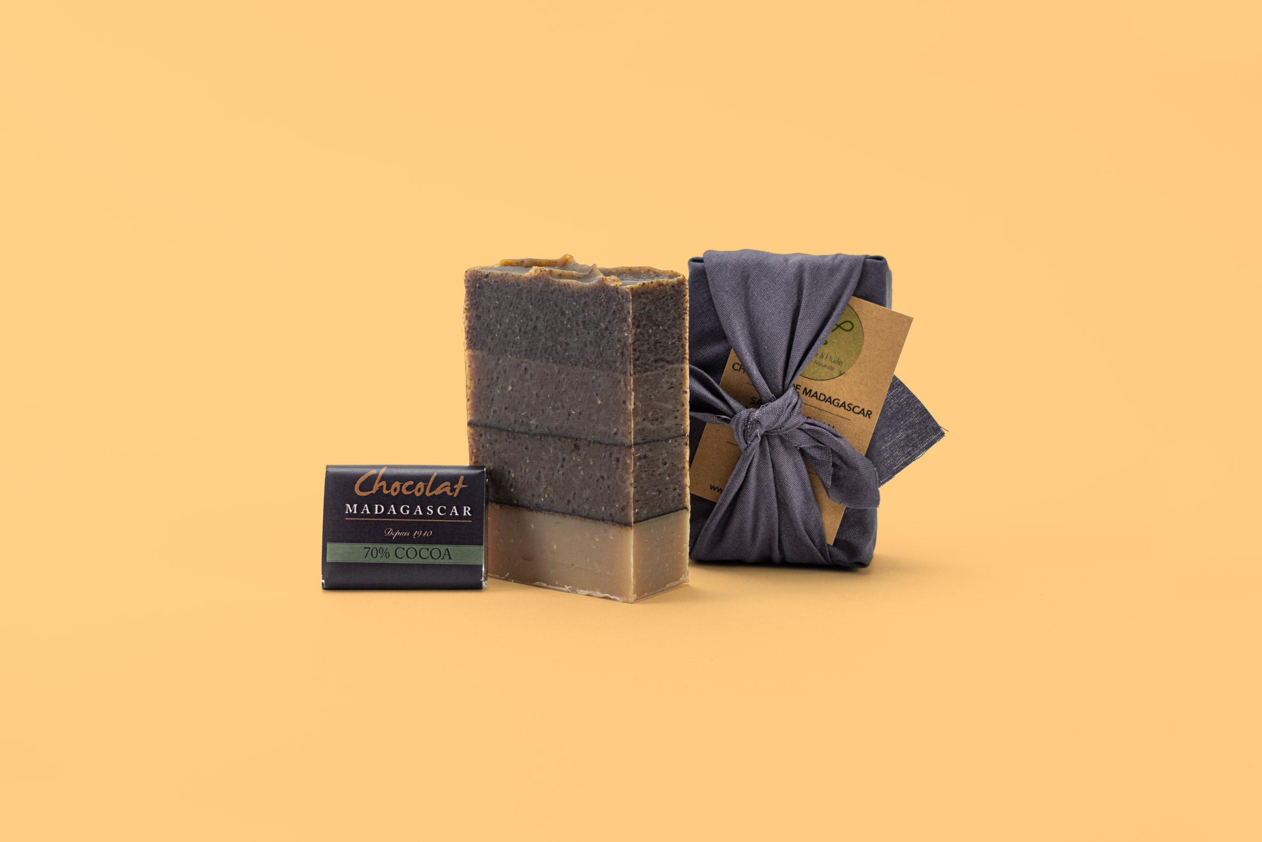 Savon Chocolat de Madagascar